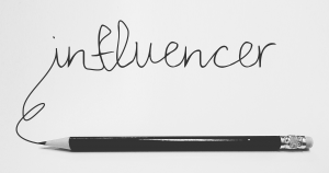 Influencer potlood