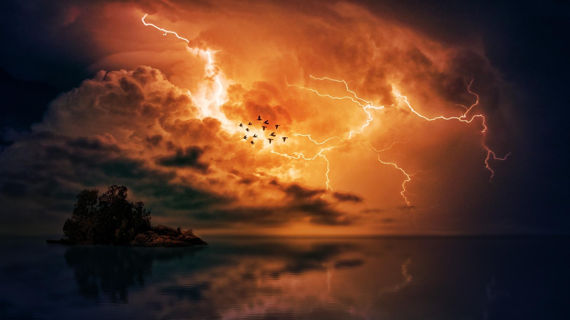 Storm en onrust