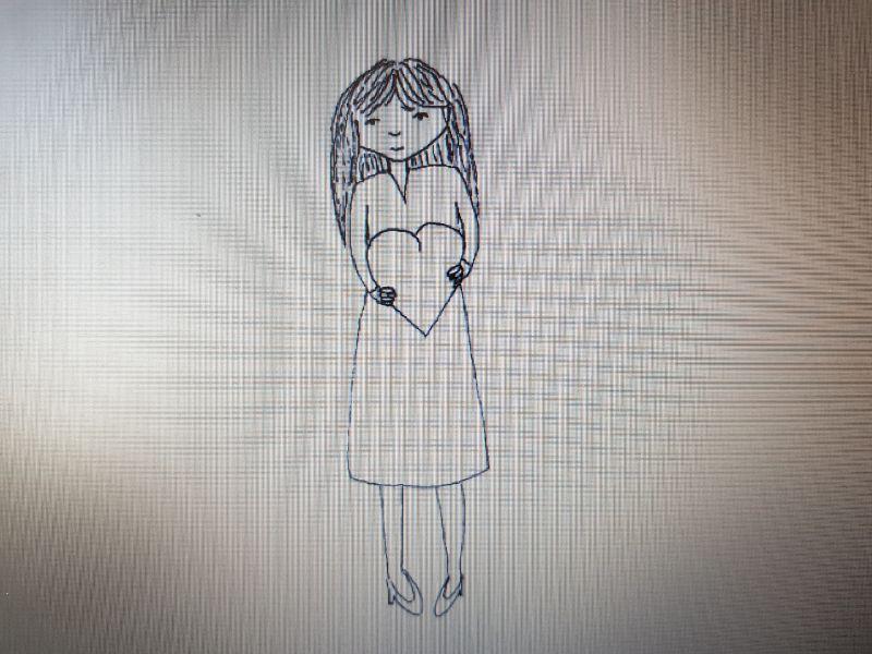 Thea's tekening